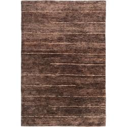 Handwoven Brown Trinidad Natural Fiber Hemp Area Rug (8' x 11')