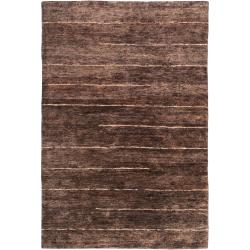"Handwoven Brown Trinidad Natural Fiber Hemp Area Rug (3'3"" x 5'3"")"