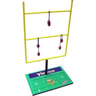 NFL Double Football Toss with Carry Bag