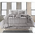 Silver 8-piece Oversized Comforter Set