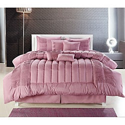 Seville Rose 8-piece Oversized Comforter Set
