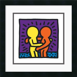 Keith Haring 'Untitled 1987' Framed Art Print