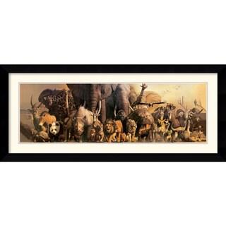 Haruko Takino 'Noah's Ark' Framed Art Print