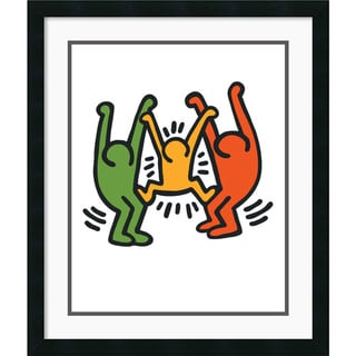 Keith Haring 'Untitled 1985' Framed Art Print
