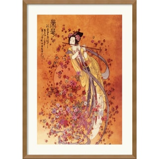 Chinese 'Goddess of Prosperity' Medium Framed Art Print