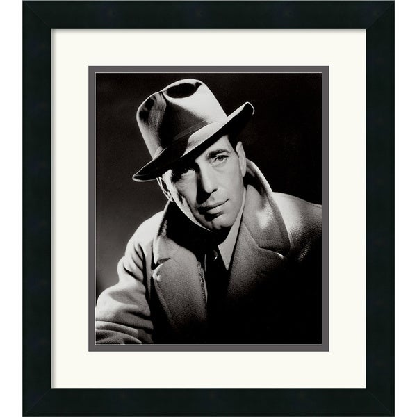 Humphrey Bogart' Framed Art Print