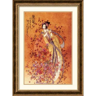 Chinese 'Goddess of Prosperity' Framed Art Print