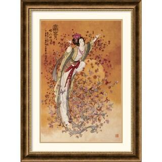Chinese 'Goddess of Wealth' Framed Art Print