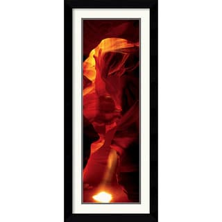 'Cave - Antelope Canyon' Framed Art Print