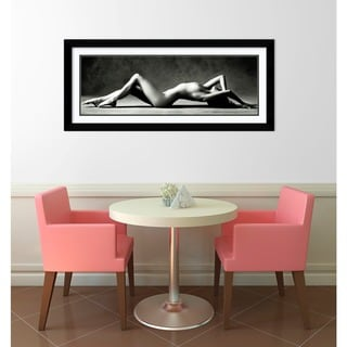 Scott Mc Climont 'Nude Reclining' Framed Art Print