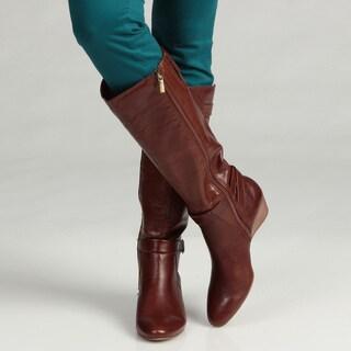 Bandolino Women's Ajem Leather Boots