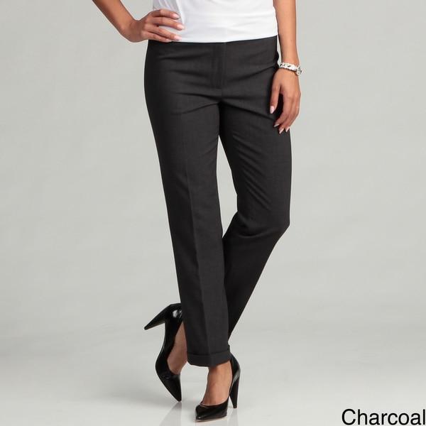 Calvin Klein Women's Side Zip Stretch Pants FINAL SALE