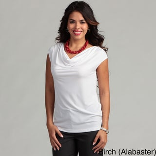 Calvin Klein Women's Cowl Neck Top FINAL SALE