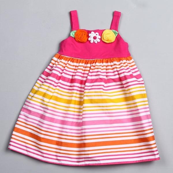 Good Lad Toddler Girl's Striped Dress
