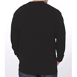 Farmall IH Men's Black Henley Top