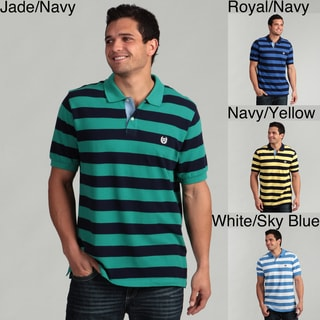 Chaps Men's Striped Polo Shirt