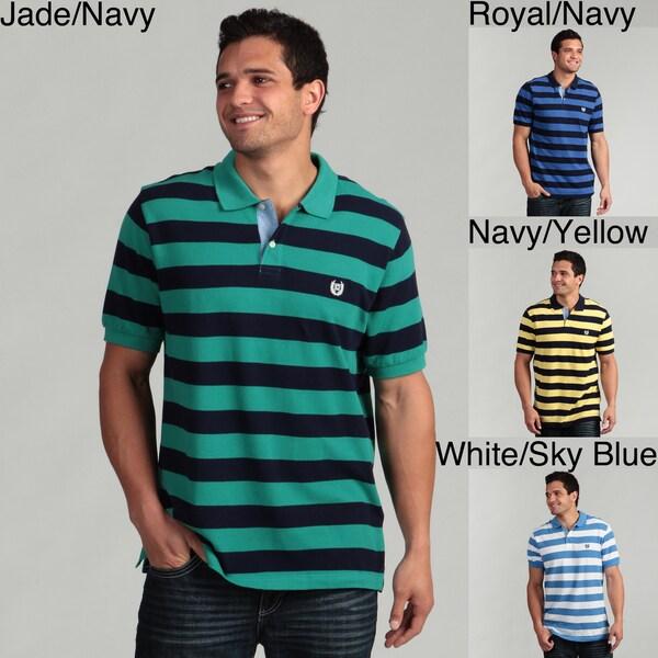 Chaps Men's Striped Polo Shirt