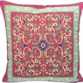 Corona Decor French Woven Transitional Decorative Pillow