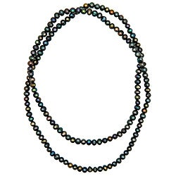Pearlz Ocean Multi-colored Freshwater Pearl Necklace