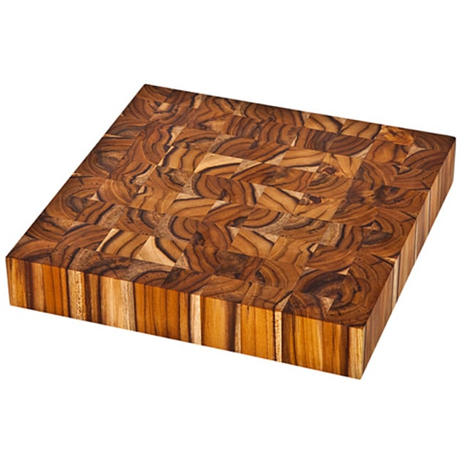Proteak End Grain 317 Square Chopping Block (12 x 12)