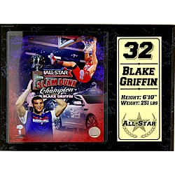 Los Angeles Clippers Blake Griffin Stat Plaque