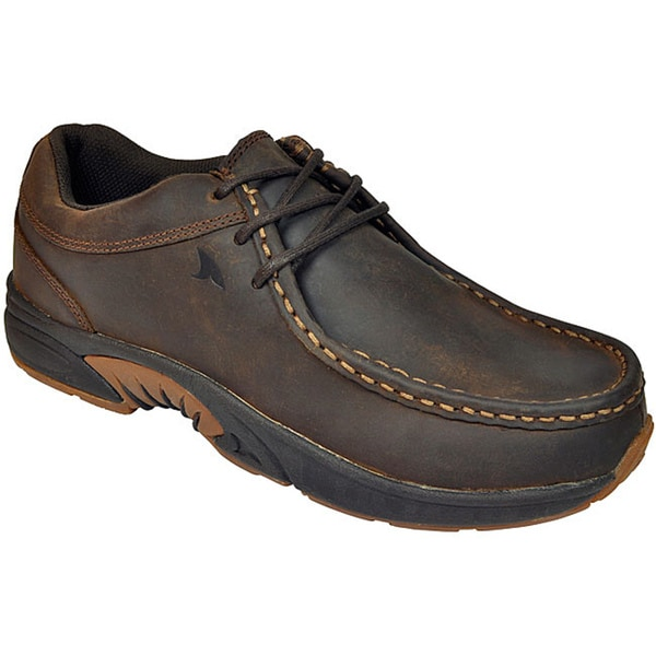 Rugged Shark Men's 'Mackinaw' Leather Oxford