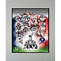 Super Bowl XLVI Matted Photo