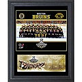 2011 NHL Champion Boston Bruins 11x14-inch Cachet Frame