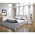 Vifah Queen-size Bed Frame and Headboard