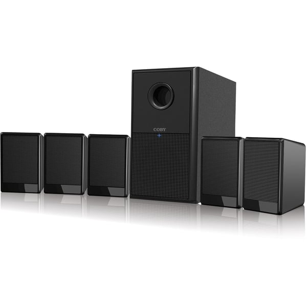 Coby CSP97 5.1 Speaker System - 300 W RMS
