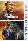 Live Free Or Die Hard/Man On Fire (DVD)