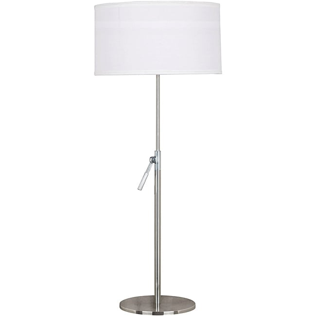 Propel 36-inch Adjustable Brushed Steel Finish Table Lamp
