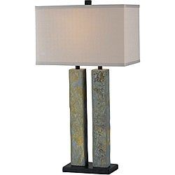 Dayton 30-inch Natural Slate Table Lamp