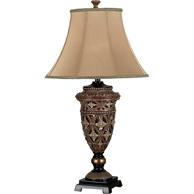 Oliver 35-inch Golden Bronze Table Lamp