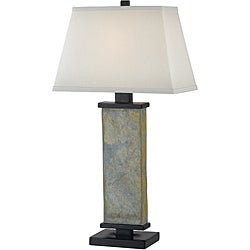 Logan 29-inch Natural Slate Table Lamp