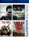 Patton/The Longest Day/The Sand Pebbles/Tora! Tora! Tora! (Blu-ray Disc)