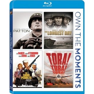 Patton/The Longest Day/The Sand Pebbles/Tora! Tora! Tora! (Blu-ray Disc) 8954481