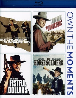Butch Cassidy & The Sundance Kid/The Comancheros/Fistful Of Dollars/Horse Soldiers (Blu-ray Disc)