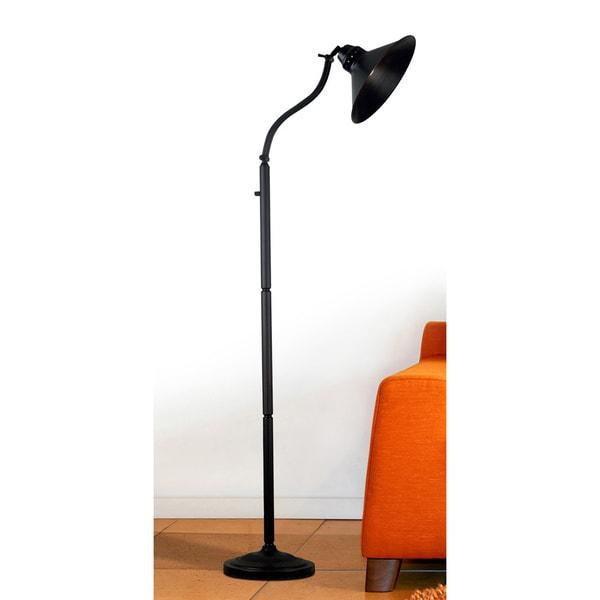 marr 72 inch oil rubbed brozne adjustable floor lamp 14179444. Black Bedroom Furniture Sets. Home Design Ideas