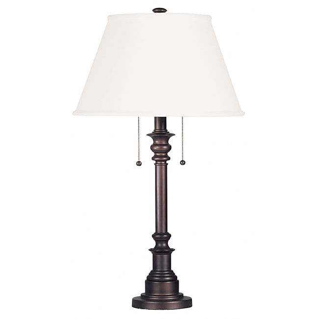 Davies 31-inch Bronze Table Lamp
