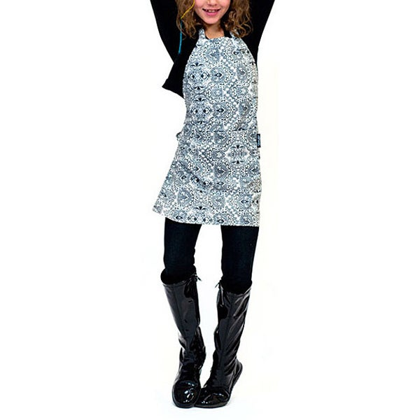 Tango Damask Stain Resistant Child Apron