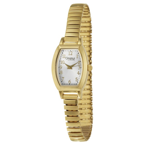 Caravelle by Bulova Women's 44L101 Goldtone Stainless Steel and Brass Expansion Watch