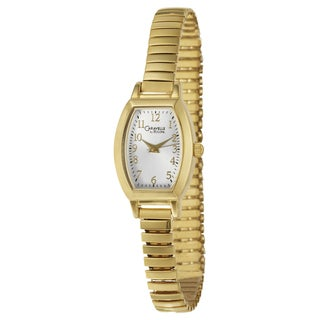 Caravelle by Bulova Women's Goldtone Stainless Steel and Brass Expansion Watch