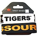 Aminco Missouri Tigers Rubber Wristbands (Set of 2)