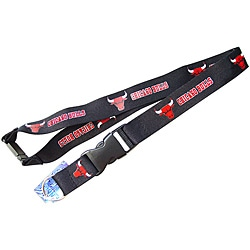 Chicago Bulls Lanyard Keychain Ticket ID Holder