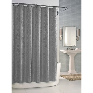 Versaille Dove Grey Shower Curtain