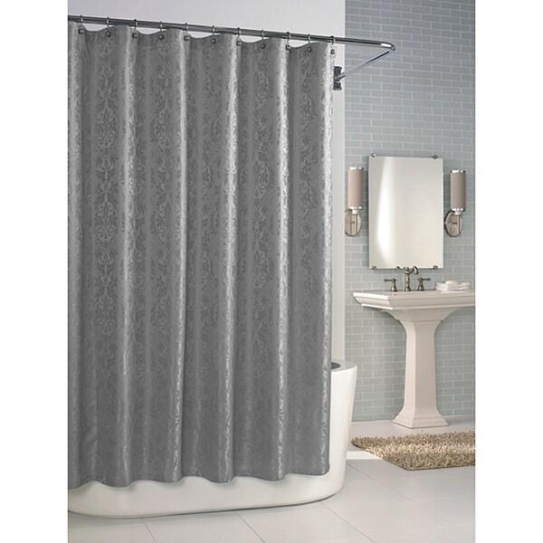 Versaille Dove Grey Shower Curtain