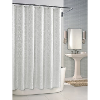 Versaille White Shower Curtain