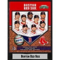 Decorative MLB Boston Red Sox 2012 Stat/Photo Commemorative Plaque