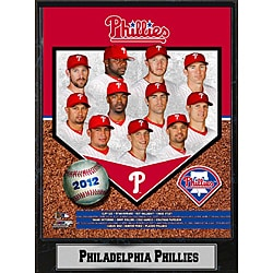 Philadelphia Phillies 2012 Plaque